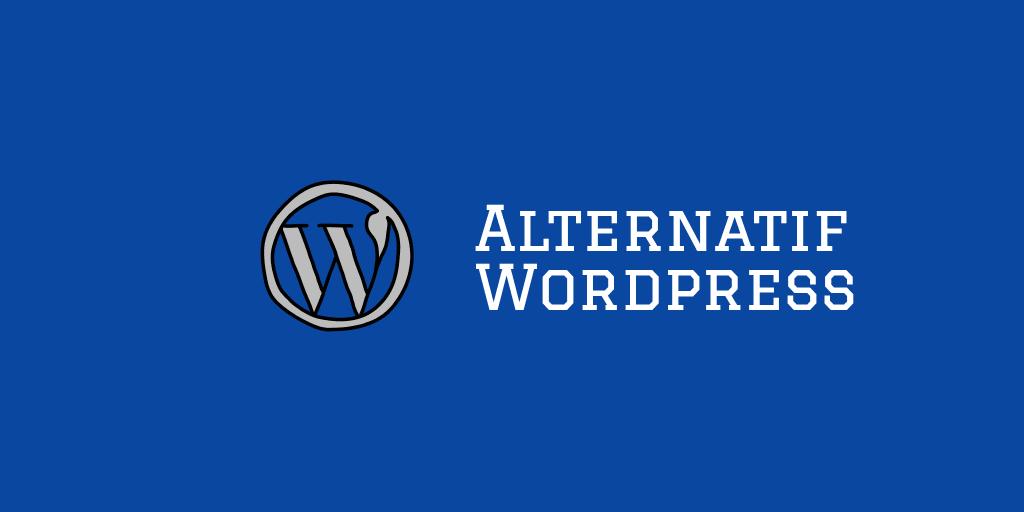 ada alternatif lain untuk platform wordpress