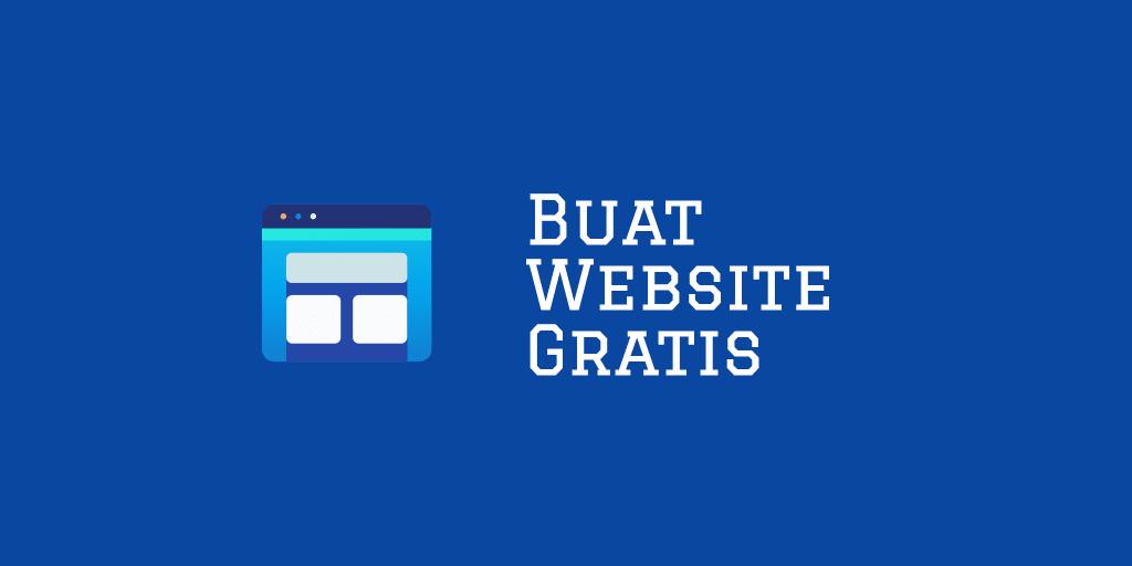 cara membuat website gratis